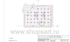 Дизайн проект детского магазина ЁМАЁ Хабаровск торговое оборудование РАДУГА Лист 11