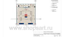 Дизайн проект детского магазина Модный Городок Москва торговое оборудование ГОЛУБАЯ ЛАГУНА Лист 10