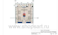 Дизайн проект детского магазина Модный Городок Москва торговое оборудование ГОЛУБАЯ ЛАГУНА Лист 11