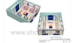 Дизайн проект детского магазина Модный Городок Москва торговое оборудование ГОЛУБАЯ ЛАГУНА Лист 19