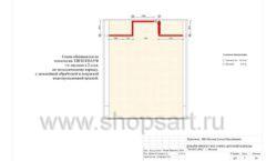 Дизайн проект детского магазина ACOO LIKE Дубна торговое оборудование РАДУГА Лист 05