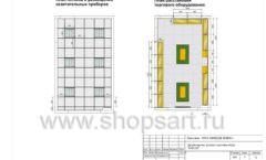 Дизайн проект детского магазина Емеля Южно-Сахалинск торговое оборудование КАРАМЕЛЬ Лист 05