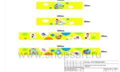Дизайн проект детского магазина Емеля Южно-Сахалинск торговое оборудование КАРАМЕЛЬ Лист 07