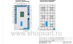 Дизайн проект детского магазина Емеля Южно-Сахалинск торговое оборудование КАРАМЕЛЬ Лист 18