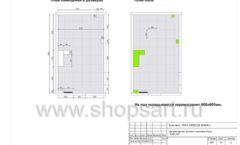 Дизайн проект детского магазина Емеля Южно-Сахалинск торговое оборудование КАРАМЕЛЬ Лист 24