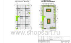 Дизайн проект детского магазина Емеля Южно-Сахалинск торговое оборудование КАРАМЕЛЬ Лист 25