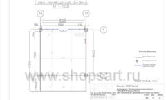 Дизайн проект детского магазина Пешеходик ТРЦ Рига Молл торговое оборудование КАРАМЕЛЬ Лист 04