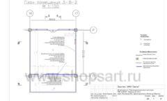 Дизайн проект детского магазина Пешеходик ТРЦ Рига Молл торговое оборудование КАРАМЕЛЬ Лист 05