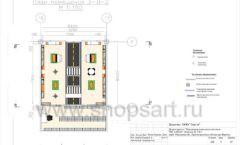 Дизайн проект детского магазина Пешеходик ТРЦ Рига Молл торговое оборудование КАРАМЕЛЬ Лист 06