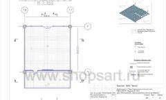 Дизайн проект детского магазина Пешеходик ТРЦ Рига Молл торговое оборудование КАРАМЕЛЬ Лист 07