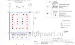 Дизайн проект детского магазина Пешеходик ТРЦ Рига Молл торговое оборудование КАРАМЕЛЬ Лист 08