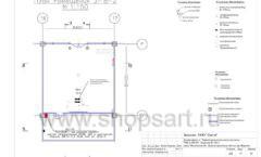 Дизайн проект детского магазина Пешеходик ТРЦ Рига Молл торговое оборудование КАРАМЕЛЬ Лист 11