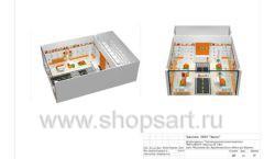 Дизайн проект детского магазина Пешеходик ТРЦ Рига Молл торговое оборудование КАРАМЕЛЬ Лист 19