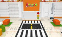 Дизайн интерьера детского магазина Пешеходик коллекция КАРАМЕЛЬ Дизайн 03