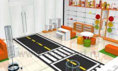 Дизайн интерьера детского магазина Пешеходик коллекция КАРАМЕЛЬ Дизайн 05