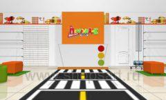 Дизайн интерьера детского магазина Пешеходик коллекция КАРАМЕЛЬ Дизайн 10