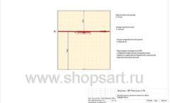 Дизайн проект детского магазина Мишутка Самара торговое оборудование КАРАМЕЛЬ Лист 05