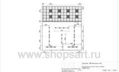 Дизайн проект детского магазина Мишутка Самара торговое оборудование КАРАМЕЛЬ Лист 07