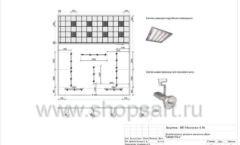 Дизайн проект детского магазина Мишутка Самара торговое оборудование КАРАМЕЛЬ Лист 08
