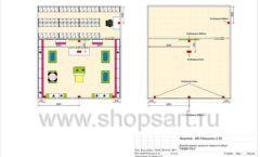 Дизайн проект детского магазина Мишутка Самара торговое оборудование КАРАМЕЛЬ Лист 09