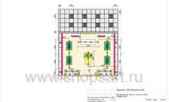 Дизайн проект детского магазина Мишутка Самара торговое оборудование КАРАМЕЛЬ Лист 11