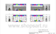 Дизайн проект детского магазина Мишутка Самара торговое оборудование КАРАМЕЛЬ Лист 13