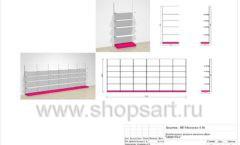 Дизайн проект детского магазина Мишутка Самара торговое оборудование КАРАМЕЛЬ Лист 14