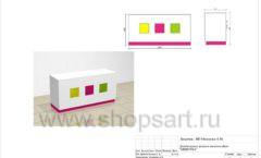 Дизайн проект детского магазина Мишутка Самара торговое оборудование КАРАМЕЛЬ Лист 15