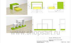 Дизайн проект детского магазина Мишутка Самара торговое оборудование КАРАМЕЛЬ Лист 16
