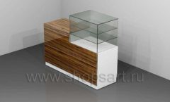 Кассовый стол с витриной торговое оборудование КАССОВЫЕ СТОЛЫ и СТОЙКИ РЕСЕПШН