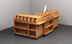 Кассовый стол для магазина игрушек торговое оборудование КАССОВЫЕ СТОЛЫ и СТОЙКИ РЕСЕПШН