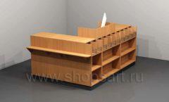 Кассовый стол для магазина торговое оборудование КАССОВЫЕ СТОЛЫ и СТОЙКИ РЕСЕПШН