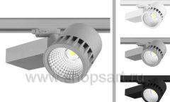 Трековые светодиодные светильники для освещения продуктов питания