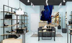 Дизайн интерьера магазина обуви 2 торговое оборудование СТИЛЬ ЛОФТ Дизайн 01