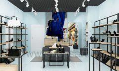 Дизайн интерьера магазина обуви 2 торговое оборудование СТИЛЬ ЛОФТ Дизайн 02