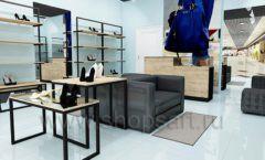 Дизайн интерьера магазина обуви 2 торговое оборудование СТИЛЬ ЛОФТ Дизайн 06