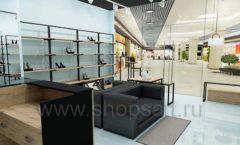 Дизайн интерьера магазина обуви 2 торговое оборудование СТИЛЬ ЛОФТ Дизайн 10