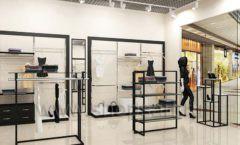 Дизайн интерьера магазина одежды торговое оборудование ЧЕРНО БЕЛАЯ КЛАССИКА Дизайн 12