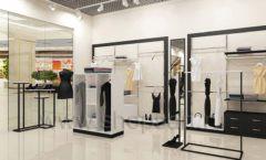 Дизайн интерьера магазина одежды торговое оборудование ЧЕРНО БЕЛАЯ КЛАССИКА Дизайн 15