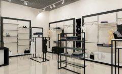 Дизайн интерьера магазина одежды торговое оборудование ЧЕРНО БЕЛАЯ КЛАССИКА Дизайн 17