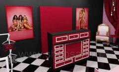 Дизайн интерьера магазина нижнего белья торговое оборудование ИСАБЕЛЬ Дизайн 01