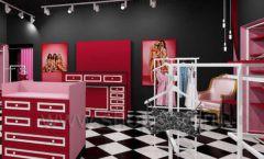Дизайн интерьера магазина нижнего белья торговое оборудование ИСАБЕЛЬ Дизайн 11