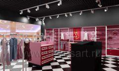 Дизайн интерьера магазина нижнего белья торговое оборудование ИСАБЕЛЬ Дизайн 12