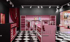 Дизайн интерьера магазина нижнего белья торговое оборудование ИСАБЕЛЬ Дизайн 15