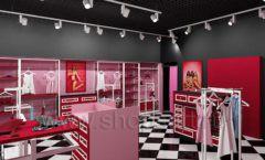 Дизайн интерьера магазина нижнего белья торговое оборудование ИСАБЕЛЬ Дизайн 16