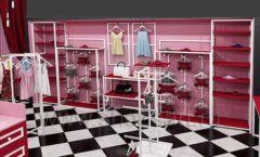 Дизайн интерьера магазина нижнего белья торговое оборудование ИСАБЕЛЬ Дизайн 17