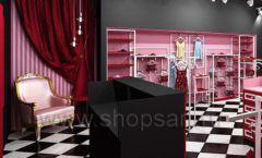 Дизайн интерьера магазина нижнего белья торговое оборудование ИСАБЕЛЬ Дизайн 19