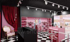 Дизайн интерьера магазина нижнего белья торговое оборудование ИСАБЕЛЬ Дизайн 22