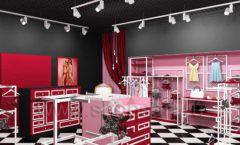 Дизайн интерьера магазина нижнего белья торговое оборудование ИСАБЕЛЬ Дизайн 23
