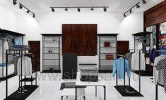 Дизайн интерьера магазина мужской одежды торговое оборудование КЛАССИЧЕСКИЙ ЛОФТ Дизайн 02